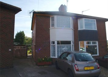 Thumbnail 2 bed semi-detached house for sale in Horton Avenue, Stretton, Burton-On-Trent, Staffordshire