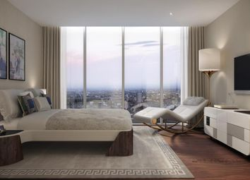 Thumbnail 1 bed flat for sale in Aykon London One, Nine Elms, London