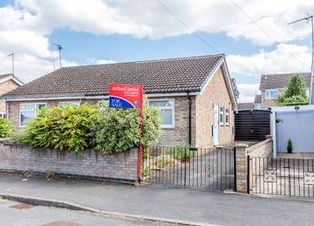 Thumbnail 2 bedroom semi-detached bungalow for sale in Saxon Rise, Irchester, Wellingborough
