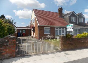 Thumbnail 3 bed semi-detached bungalow for sale in Pitsmead Road, Kirkby, Liverpool