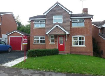 Thumbnail 4 bed detached house to rent in Moorcroft Gardens, Walkwood, Redditch