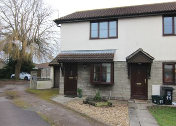 Thumbnail 2 bed end terrace house for sale in Nutwell Square, Worle, Weston-Super-Mare