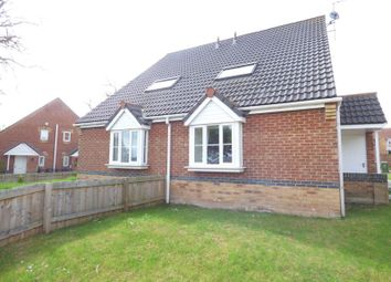 Thumbnail 1 bed semi-detached house for sale in Hunworth Close, Sunderland
