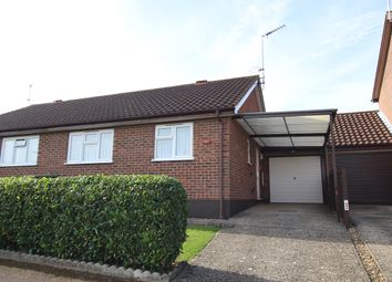 Thumbnail 2 bed semi-detached bungalow for sale in Chequers Rise, Gt Blakenham, Ipswich, Suffolk