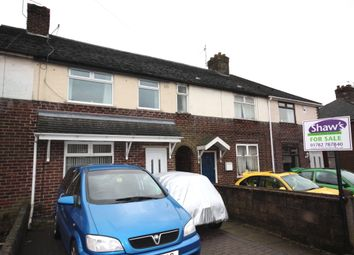 Thumbnail 3 bedroom terraced house for sale in Maureen Avenue, Tunstall, Stoke-On-Trent