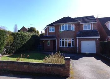 Thumbnail 4 bed detached house for sale in Avon Crescent, Stratford-Upon-Avon