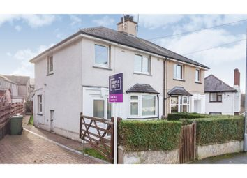 Thumbnail 3 bed semi-detached house for sale in Gernant, Bangor