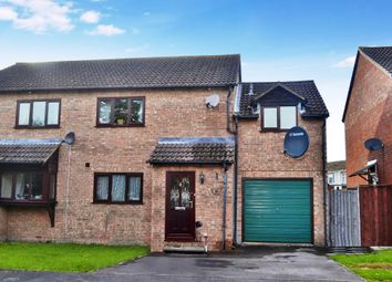 Thumbnail 3 bed semi-detached house for sale in Long Close, Kintbury, Hungerford
