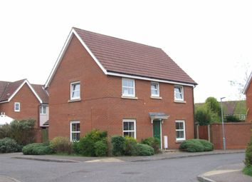 Thumbnail 3 bed detached house for sale in Mountbatten Drive, Old Catton, Norwich