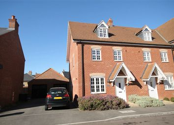Thumbnail 4 bed end terrace house for sale in Stedeham Road, Great Denham, Bedford