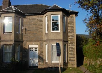 Thumbnail 1 bed flat to rent in Park Road, Kirn, Dunoon