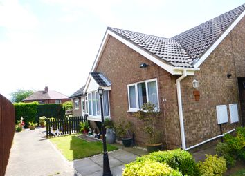 Thumbnail 2 bed semi-detached bungalow for sale in Magdalen Close, Scunthorpe