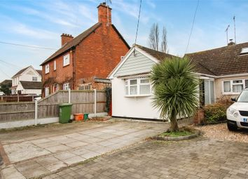 Thumbnail 2 bed semi-detached bungalow for sale in Swan Lane, Wickford, Essex