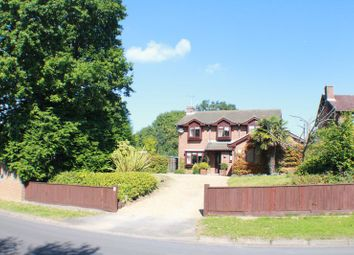 Thumbnail 4 bed detached house for sale in Holly Hill Lane, Sarisbury Green, Southampton