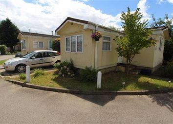 Thumbnail 1 bed mobile/park home for sale in Elstree Park, Barnet Lane, Borehamwood