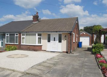 Thumbnail 2 bed semi-detached bungalow to rent in Burrswood Avenue, Bury, Greater Manchester