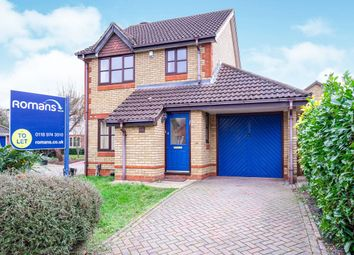 Thumbnail 3 bed detached house to rent in Montague Close, Wokingham