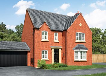 Thumbnail 4 bed detached house for sale in Norton Rise, Main Road, Austrey