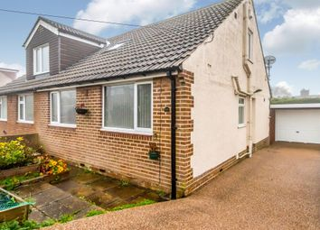 Thumbnail 3 bed semi-detached bungalow for sale in Hill View Gardens, Northowram, Halifax