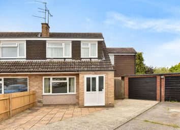 Thumbnail 4 bed semi-detached house for sale in Curlew Close, Thatcham