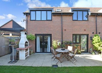 Thumbnail 2 bed semi-detached house for sale in Derby Drive, Leybourne, West Malling, Kent
