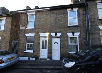 Thumbnail 2 bed terraced house to rent in Bryant Road, Rochester