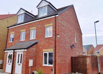 Thumbnail 3 bed semi-detached house to rent in Oval View, Scholars Rise, Middlesbrough