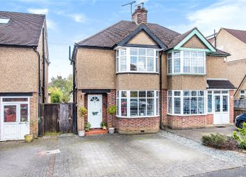 Thumbnail 3 bed semi-detached house for sale in Claremont Crescent, Croxley Green, Rickmansworth