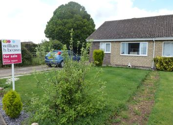 Thumbnail 3 bed semi-detached bungalow for sale in Holden Drive, Burgh Le Marsh, Skegness