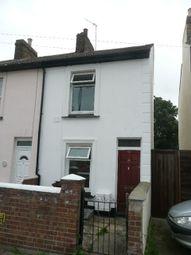 Thumbnail 2 bedroom end terrace house to rent in Trafalgar Street, Gillingham