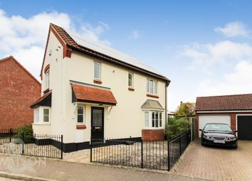 3 bed detached house for sale in Hill Farm Road, Long Stratton, Norwich NR15