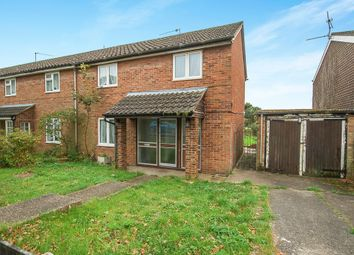 Thumbnail 3 bed end terrace house for sale in Elm Road, Thetford