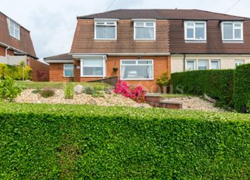 Thumbnail 3 bedroom semi-detached house for sale in Laurel Road, Bassaleg, Newport.