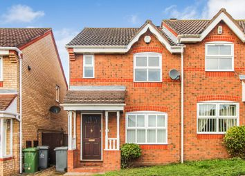 Thumbnail 2 bed semi-detached house for sale in Thistledown Road, Horsford, Norwich