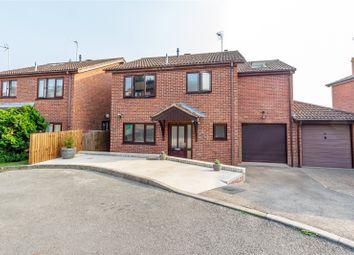 Sandringham Close, Ross-On-Wye, Herefordshire HR9. 4 bed link-detached house