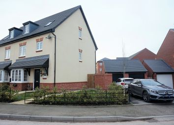 Thumbnail 4 bedroom semi-detached house for sale in Heron Way, Nantwich