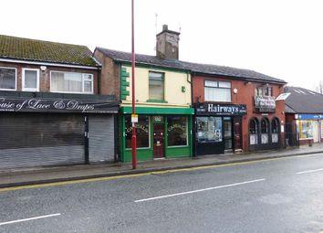 Thumbnail Commercial property for sale in Market Street, Droylsden, Manchester