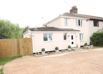 Thumbnail 2 bed semi-detached house for sale in Buttons Pond, Ashbocking Road, Swilland, Ipswich, Suffolk