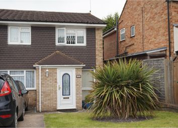 Thumbnail 3 bed semi-detached house to rent in Homefield Road, Bushey