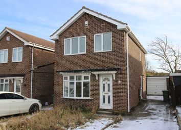 Thumbnail 3 bed detached house for sale in Lanchester Avenue, Billingham