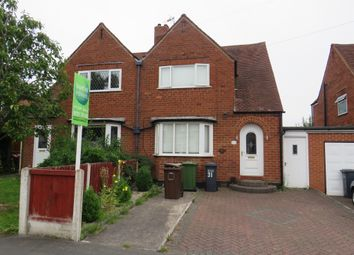 Thumbnail 2 bed semi-detached house for sale in Avon Road, Shirley, Solihull