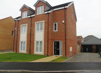 Thumbnail 4 bed town house for sale in Coppice Place, Newcastle Upon Tyne