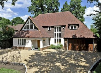Thumbnail 5 bed detached house for sale in Woodland Avenue, Cranleigh