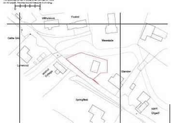 Thumbnail Land for sale in Hay On Wye 2 Miles, Llanigon