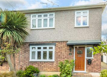 Thumbnail 3 bedroom semi-detached house for sale in Peterborough Avenue, Upminster