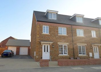 Thumbnail 3 bed terraced house for sale in Dragonfly Way, Dragonfly Meadows, Northampton