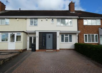 Thumbnail 4 bed terraced house for sale in Turnley Road, Shard End, Birmingham