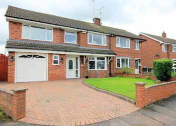 Thumbnail 4 bed semi-detached house for sale in Springcroft, Blythe Bridge, Stoke-On-Trent