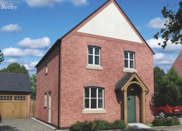 Thumbnail 3 bed detached house for sale in The Beeley, Burton Road Tutbury, Staffordshire