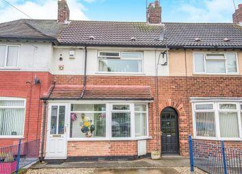 Thumbnail 2 bed terraced house for sale in Marfleet Lane, Hull